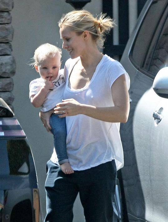 Kristen Bell s prvorozenou dcerkou Lincoln