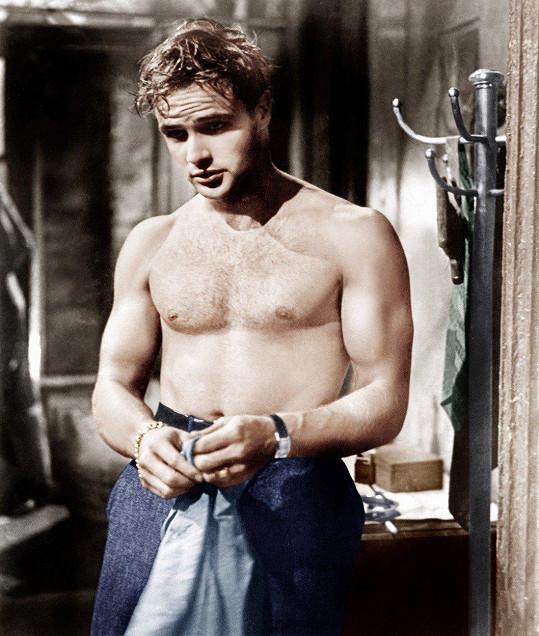 Marlon Brando ve filmu Tramvaj do stanice Touha (1951)