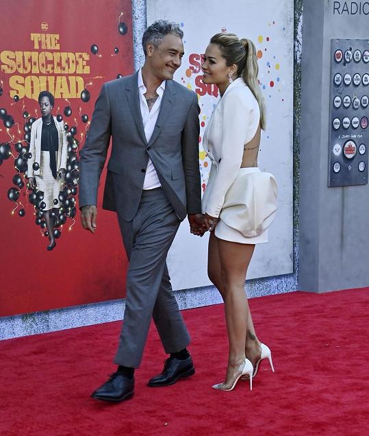 Rita Ora s přítelem Taikou Waititim