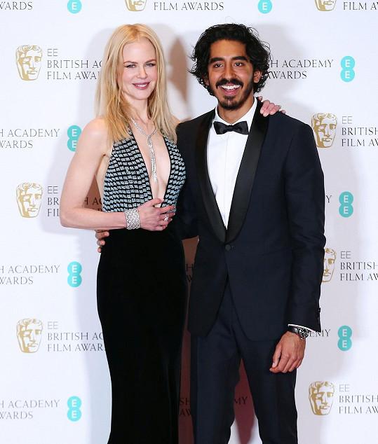 Nicole s filmem Lion nesupěla, Dev Patel ano.
