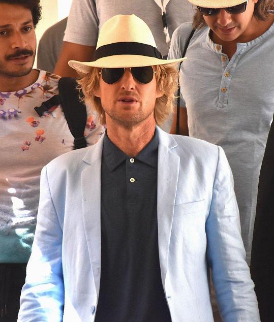 Owen Wilson je momentálně na filmovém festivalu v Egyptě.