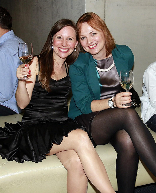 Kamila Špráchalová s kamarádkou