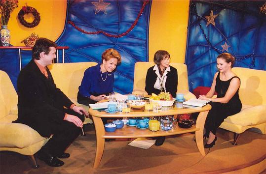 K hvězdným hostům se zařadily i Dagmar Havlová a Hana Hegerová.