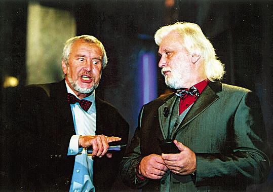 Velcí kamarádi Jiří Wimmer (vlevo) a Karel Černoch