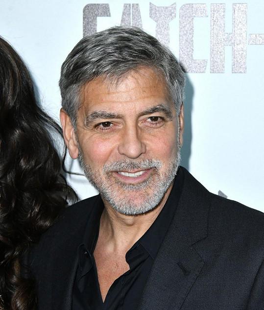 Nestárnoucí George Clooney je na pátém místě s 89,91 %.