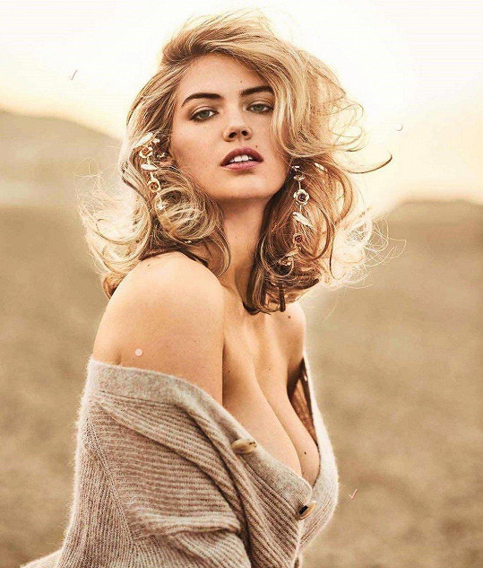 Kate v červnu nafotila sexy snímky pro časopis Maxim.
