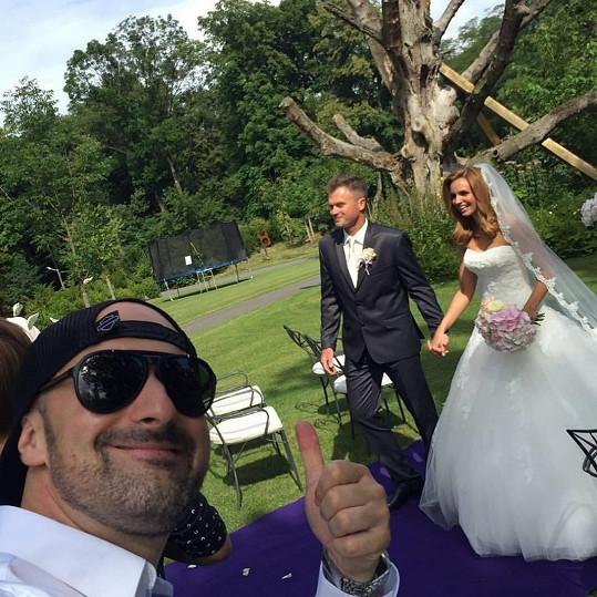 Tereza Juščíková si dnes vzala svého přítele Tomáše Jandu.