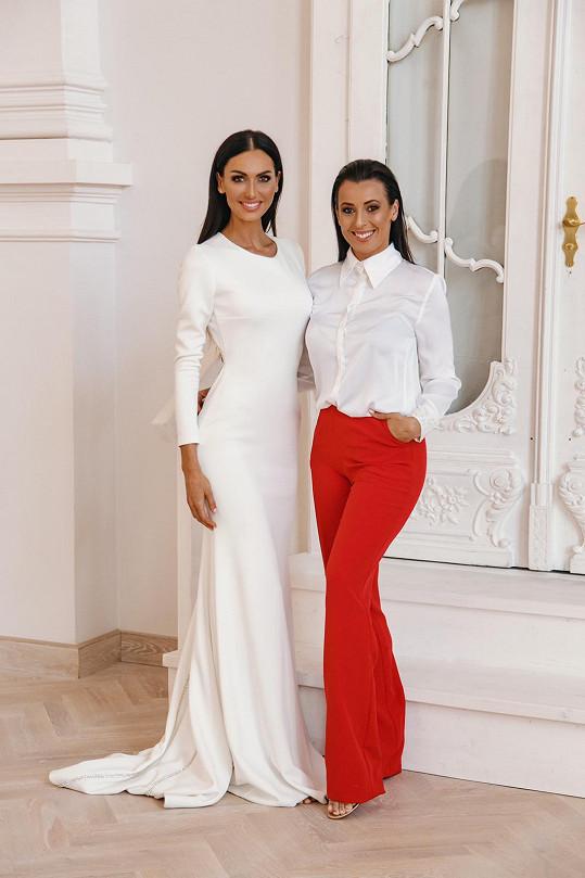 Eliška s ředitelkou soutěže Veronikou Farářovou