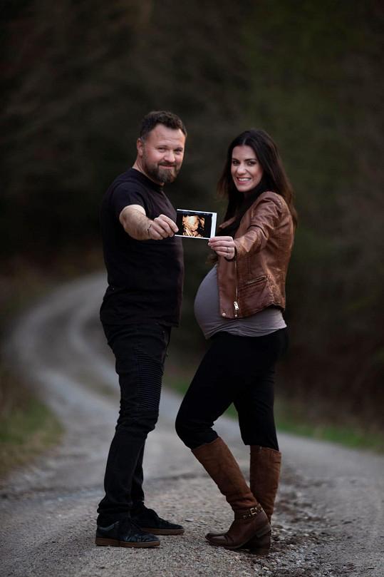 S manželem Tomášem