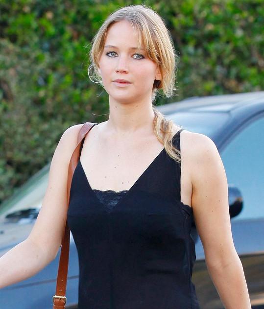 Jennifer Lawrence si nehraje na dámu.