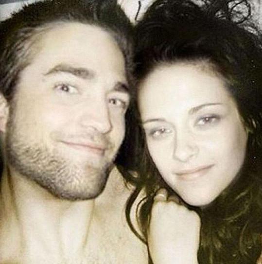 Robert Pattinson byl její první velkou láskou.