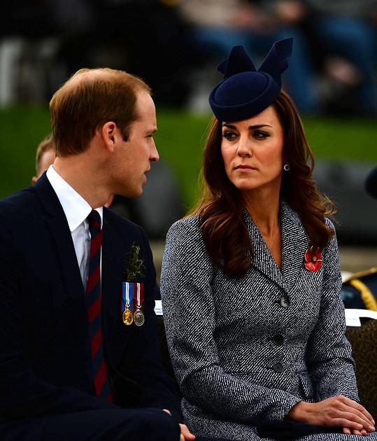 Bude si teď muset Kate svého muže víc hlídat?