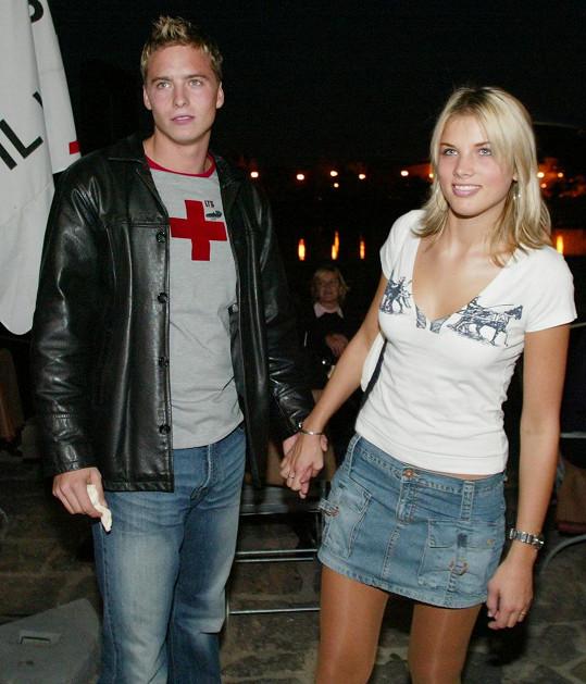 Dlouho chodil s vicemiss ČR z roku 2003 Klárou Medkovou, než potkala fotbalistu Radka Kováče.