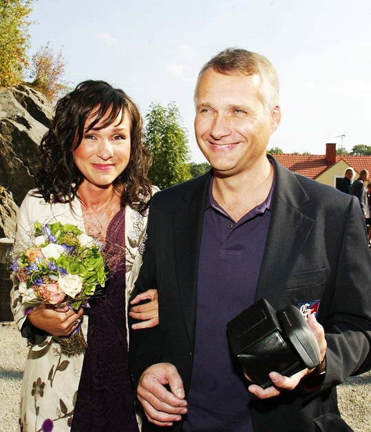 V roce 2005 se Kateřina provdala za veterináře Jana Herčíka.