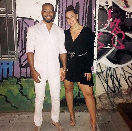 Ashley Graham s manželem
