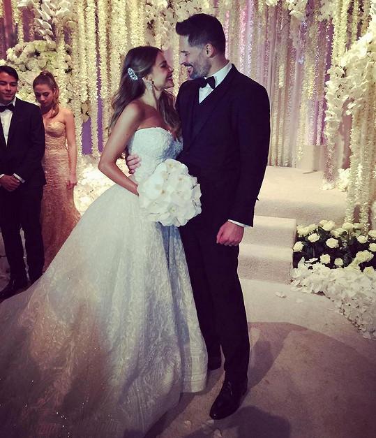 Sofia Vergara a Joe Manganiello vstoupili do manželství.