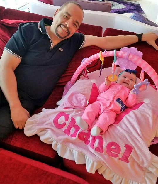 Chanel s tatínkem Icem-T
