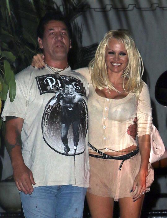 Pamela s bývalým (?) přítelem Frankem Zitem