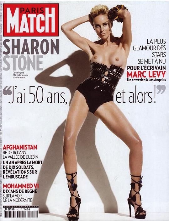 Sharon Stone a její nejodvážnější titulka