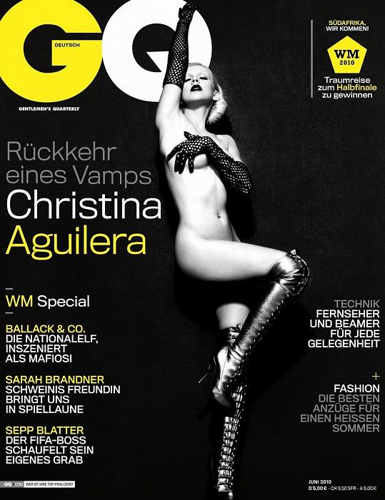 Před čtyřmi lety pro německé vydání magazínu GQ