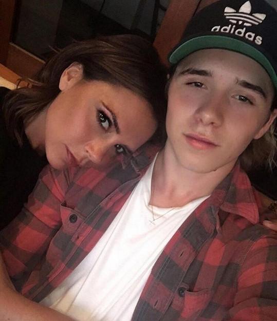Victoria Beckham se synem Brooklynem
