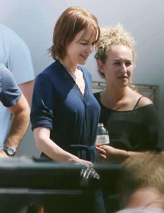 Nicole Kidman si nevzala podprsenku.