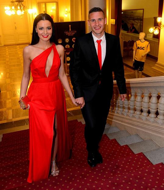 Tereza Chlebovská a Pavel Kadeřábek tvoří už více než rok krásný pár.