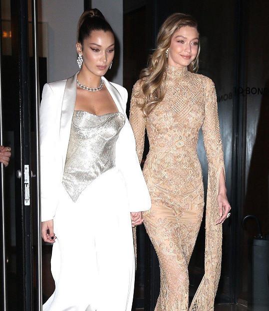 V desítce nejlépe placených modelek jsou obě sestry Hadidovy.