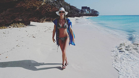 Gabriela má dokonalé tělo.