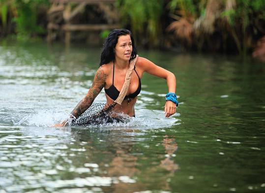 Martina Helis v show Robinsonův ostrov