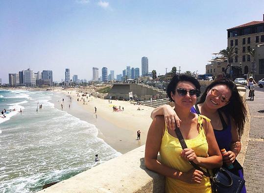 Ewa Farna s maminkou Karin