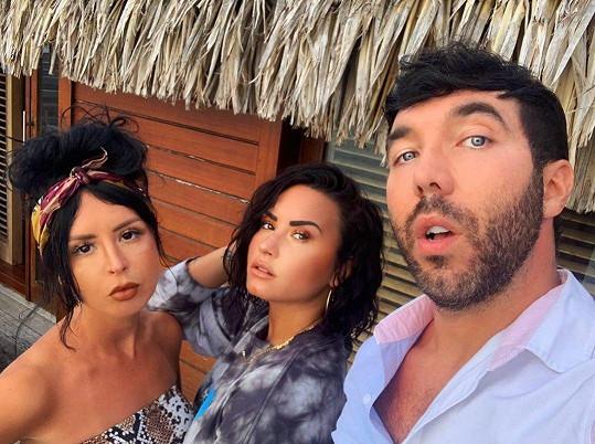 S nejlepšími přáteli se vydala na Bora Bora.