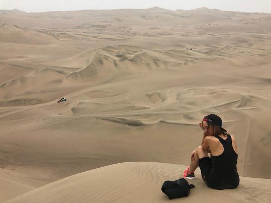 Tereza Voříšková na vlastní kůži zažila, jak krutá může být poušť.