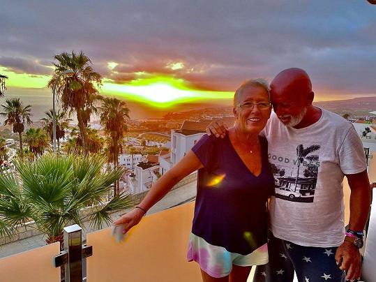 Rodiče Zuzany Belohorcové byli z Tenerife nadšení.