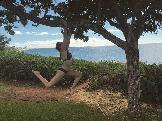 ... i na ostrovech cvičením.