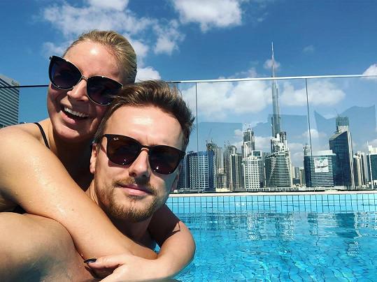 Markéta Konvičková je po boku přítele Rendy šťastná už čtyři roky.