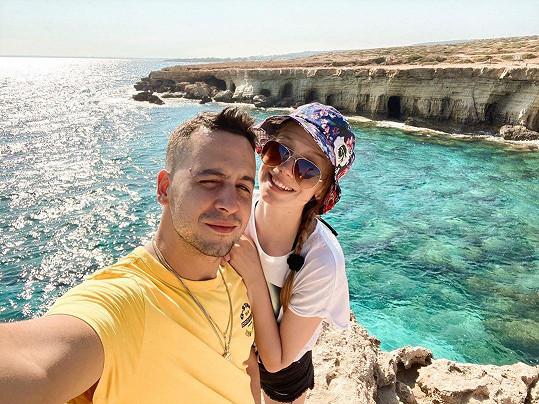 Na romantickou dovolenou vyrazila s přítelem Jánem Strapcem, alias rapperem Strapem.