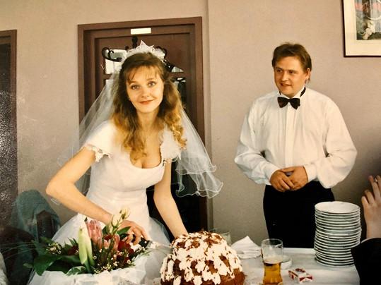 """Loni oslavili stříbrnou svatbu, letos to bude 26 let, kdy si u oltáře řekli """"ano""""."""