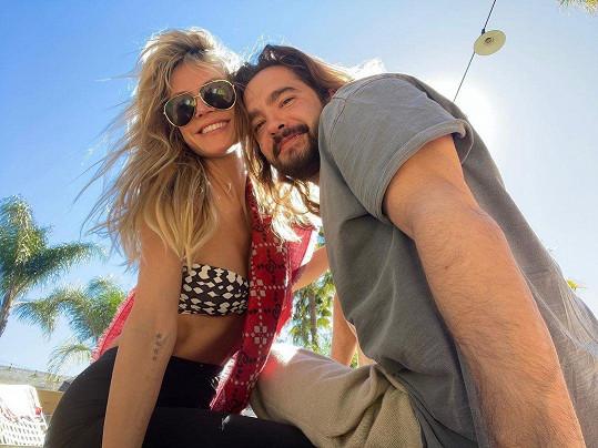 S manželem Tomem Kaulitzem našla štěstí.