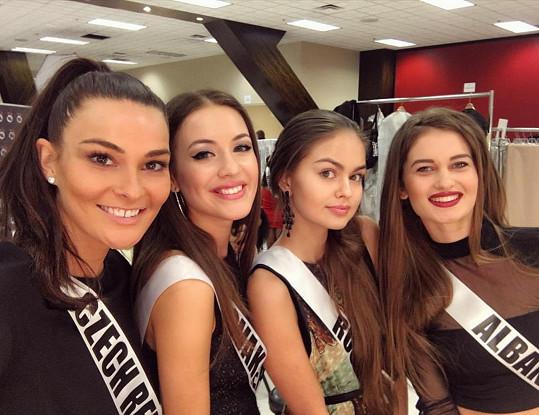 Nikol Švantnerová na Miss Universe