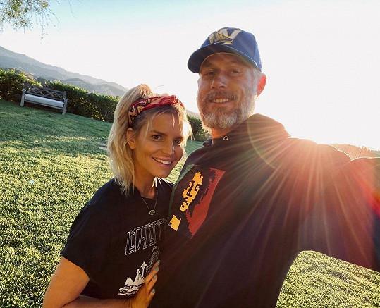 S manželem Ericem Johnsonem