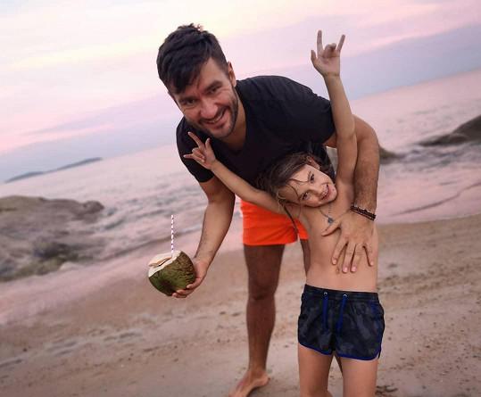 Pár má společného syna Marečka, který v červnu oslaví deváté narozeniny.