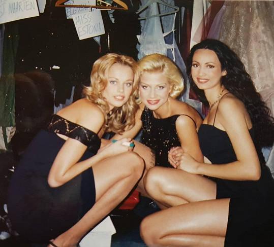 Helena Houdová (vlevo) vzpomínala na Miss World.