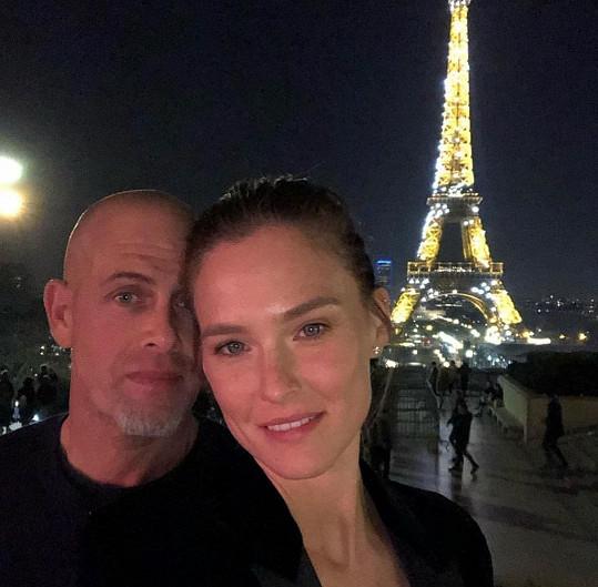 Bar Refaeli s manželem Adim Ezrou