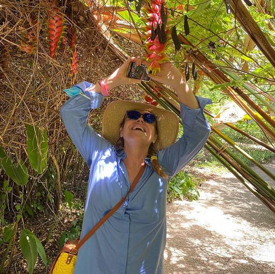 Havlová odpočívá na Zanzibaru.