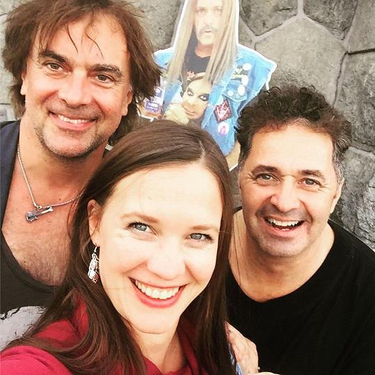 Tomáš Matonoha, Kristýna Leichtová a Martin Dejdar vzpomínali na natáčení Comebacku.