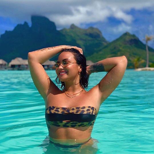 Demi Lovato se dává dohromady po náročném období.
