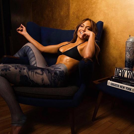 Jennifer je na vrcholu kariéry i životní formy.