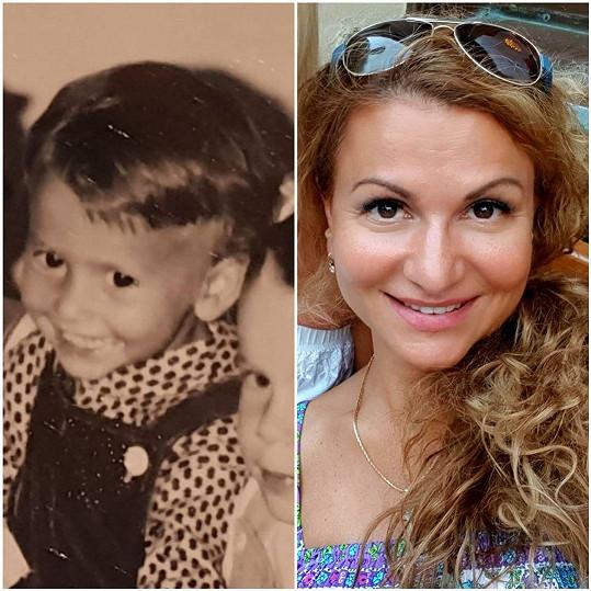 Blanarovičová sdílela fotku v rámci vzpomínkového pátku na Instagramu.