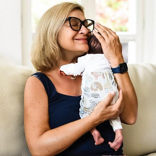 Vnučka dostala jméno Allegra Jana.
